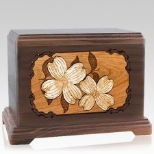 Dogwood Walnut Hampton Cremation Urn