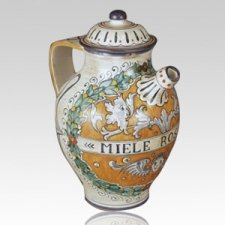 Abeja Ceramic Cremation Urn