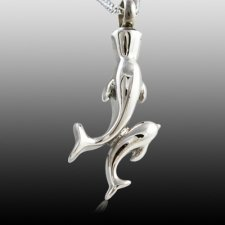 Dolphin Cremation Jewelry
