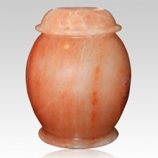 Rock Salt Bio Cremation Urn