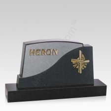Dorado Companion Granite Headstone