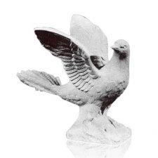 Dove Marble Statue