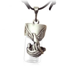 Dove Cremation Necklace