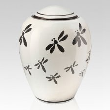 Dragonfly Ceramic Companion Urn