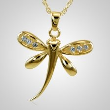 Dragonfly Cremation Pendant II