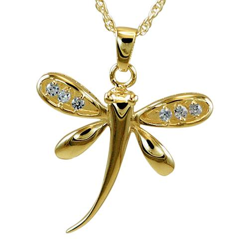 Dragonfly Cremation Pendant IV