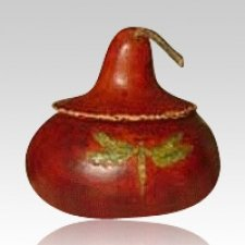 Dragonfly Gourd Cremation Urn