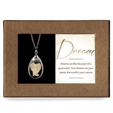 Dream Gift Boxed Angel Pendant
