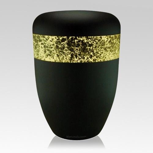 Speckled Gold Biodegradable Urn