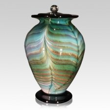 Dreamland Glass Cremation Urn