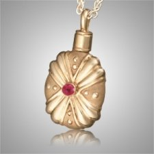 Duchess Gothic Ruby Cremation Pendant II
