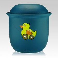 Duckie Child Urn