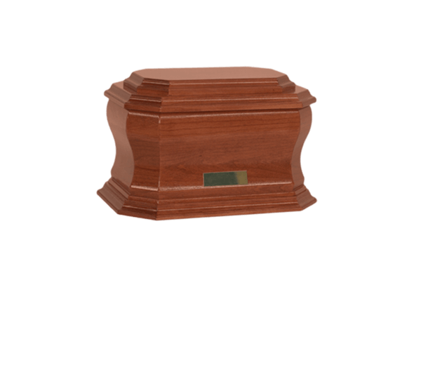 Dynasty Wood Cremation Urn