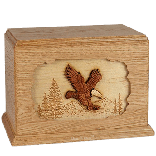 Eagle Oak Companion Urn