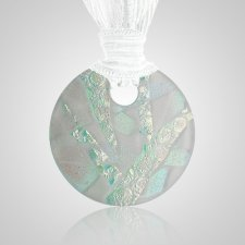 Green Eternity Ash Pendant
