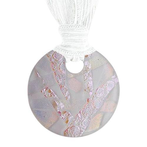 Pink Eternity Ash Pendants