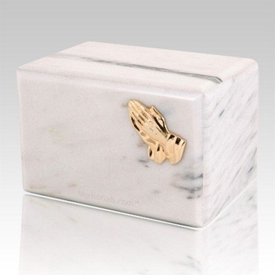 Expressions White Danby Marble Urn