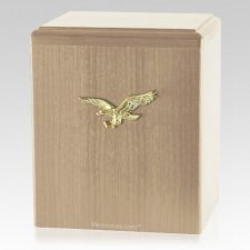 Eagle Ascent Maple Cremation Urn