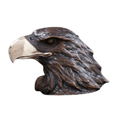Eagle Bronze Keepsake Cremation Urn