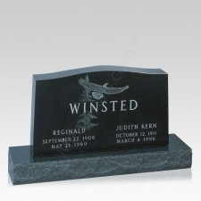 Eagle Memorial Grave Headstone