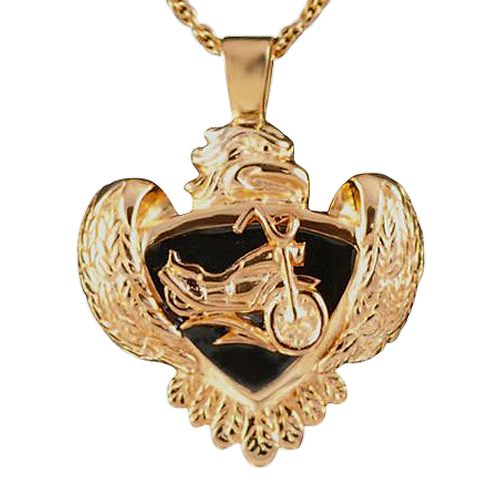 Eagle with Motorcycle Keepsake Jewelry II