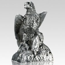 Eagle Pewter Keepsake Cremation Urn