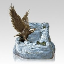 Eagle Bronze Cremation Urn
