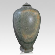 Earth Alabaster Cremation Urn