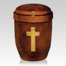 Earth Cross Cremation Urn