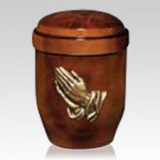 Earth Prayer Cremation Urn