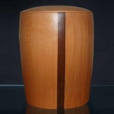 Eclipse Wood Cremation Urn