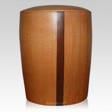 Eclipse Wood Cremation Urn