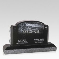 Eden Companion Granite Headstone