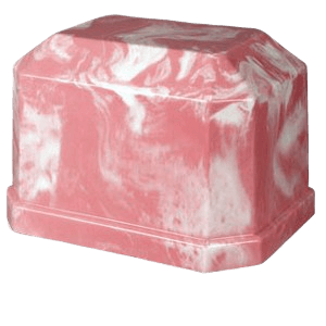 Eden Rose Marble Cremation Urn