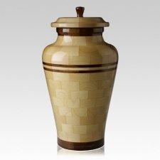 Eldon Large Wood Urn