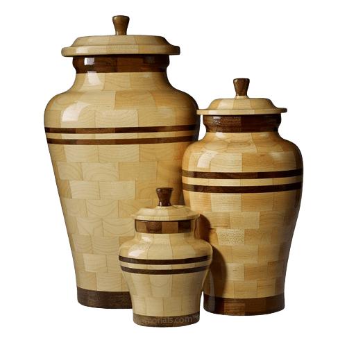 Eldon Wood Cremation Urns