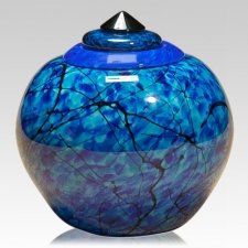 Electron Glass Cremation Urn