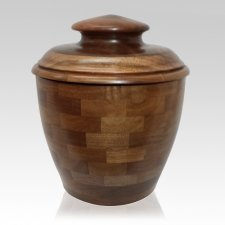Elegance Wood Cremation Urn