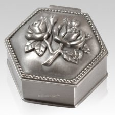 Elegant Hexagon Keepsake Box