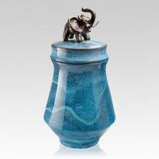 Elephant Ceramic Cremation Urn