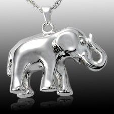 Elephant Cremation Pendant