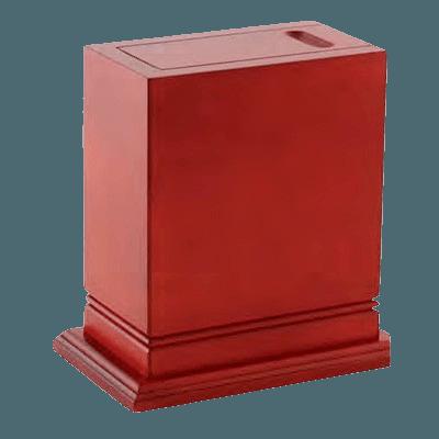 Elite Scattering Wood Cremation Urn II