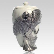 Embrace Angel Keepsake Cremation Urn