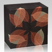 Autumn Leaves Large Biodegradable Urn