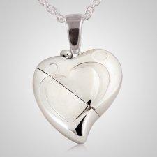 Embrace Heart Keepsake Pendant