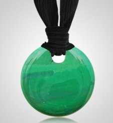 Emerald Cremation Ashes Pendants