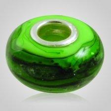 Emerald Elegance Cremation Ash Bead