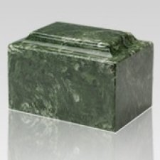 Emerald Marble Keepsake Cremation Urn
