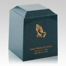 Emerald Naples Cultured Cremation Urn