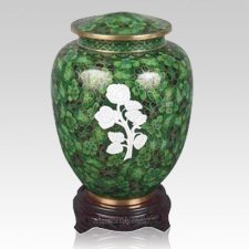 Peaceful Rose Cloisonne Urn